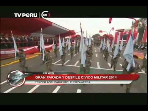 Presentación de la FAP en Gran Parada y Desfile Militar