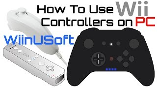 How to Use Wii & WiiU Controllers - on PC - Play Emulators & Xbox Gamepad Supported Games