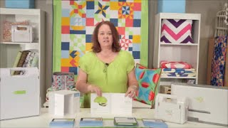 4 New AccuQuilt GO! Qube Mix & Match Blocks