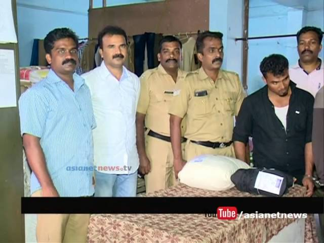Excise caught 5 KG Ganja trafficking via KSRTC Bus