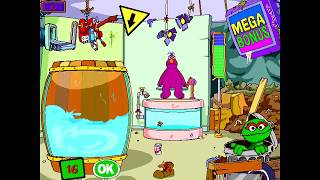 Dunk or Dare with Oscar the Grouch and Telly Monster