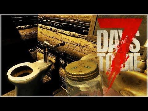 『7 Days to Die 七日殺 全新第四季』殭屍末日躲在廁所一點也不可恥!