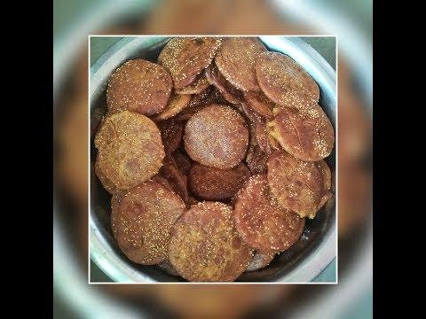 How to prepare Nuvula ariselu in village style // sankranthi special sweet // ghee ariselu