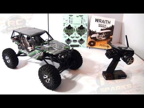 RC ADVENTURES - AXIAL WRAITH UNBOXING A ROCK RACER!
