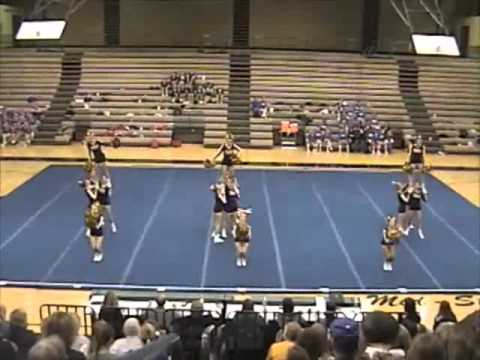 MHS Cheerleading 2010 Mid State Conference Competition - 3rd place!!