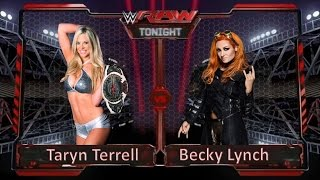Wwe 2K15 - Taryn Terrel Vs. Becky Lynch