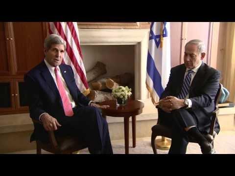 PM Netanyahu meets US Sec of State John Kerry