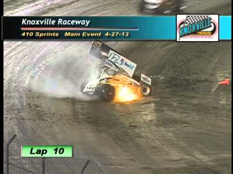 4/27/13 - Lucas Oil Knoxville Championship Cup Series #2 410&#039;s