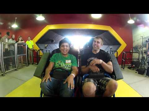 SUPERMAN Ultimate Flight (HD POV) Six Flags Discovery Kingdom