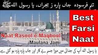 Tanam Farsooda Jaan Para with Urdu Translation | Maulana Jami | Life Skills Tv