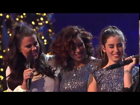 Fifth Harmony & Demi Lovato duet singing Give Your Heart A Break.