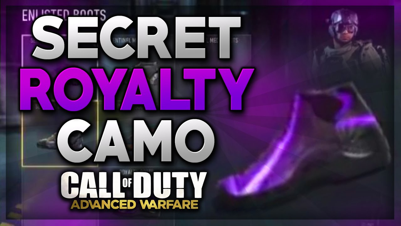 Call Of Duty Advanced Warfare  Royalty Camo Revealed