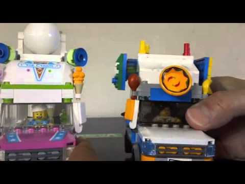 Lego Ice Cream Machine 70804 and Food truck with a special ...