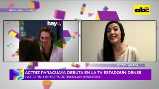 Paz Berni, actriz paraguaya en la TV estadounidense