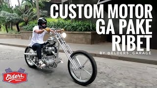 MOTOVLOG - TEST RIDE ROYAL ENFIELD, CUSTOM CHOPPER RASA GLEDEK by Elders Garage ⚡⚡⚡