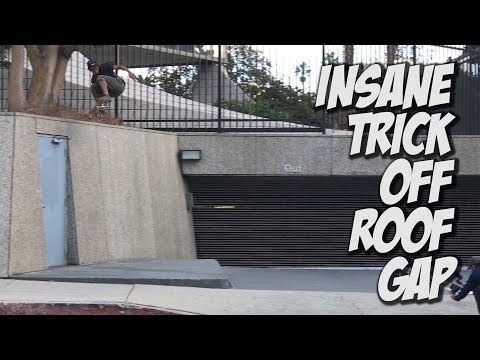 INSANE BACK 360 OFF OF ROOF !!!    NKA VIDS