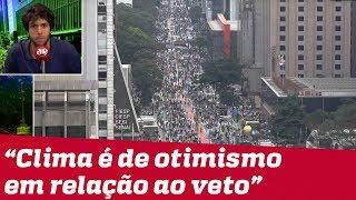 Caio Coppolla analisa os atos: Tom das ruas é de crédito ao governo