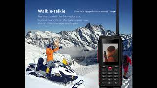 Phone for travel IOUTDOOR. Unkillable, waterproof, high capacity battery. Order on aliexpress