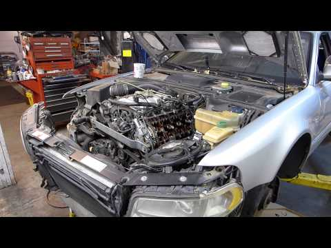 2000 Audi A8 L Timing Belt and Timing Chain Tensioner replacement