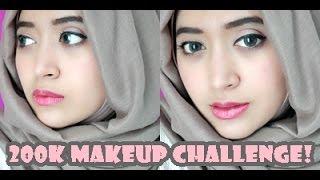 200K MakeUp Challenge   Natasha Farani