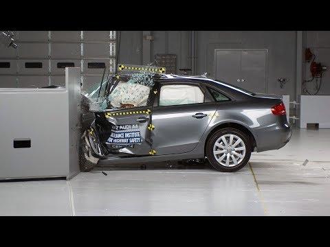 2012 Audi A4, краш-тест