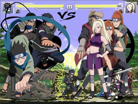 Yamanaka Clan Members Clan vs Team Yamanaka Clan