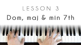 Piano 101 - Lesson 3: 7th chords