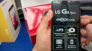 #6-Unboxing en español Lg G3 Stylus | New Android