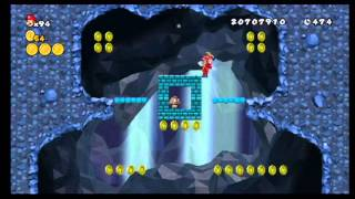 New Super Mario Bros Wii 1-2 Star Coins