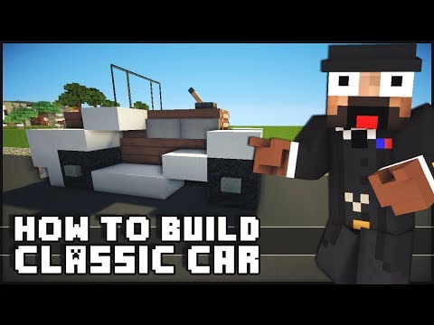 Minecraft Vehicle Tutorial Classic Car