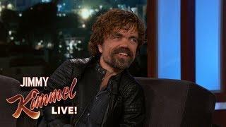 Peter Dinklage on Game of Thrones Cast Pranks