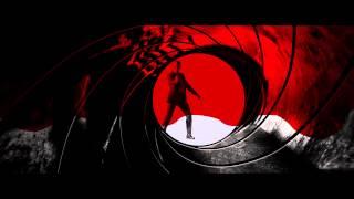 James Bond Gunbarrel Skyfall Poster Design