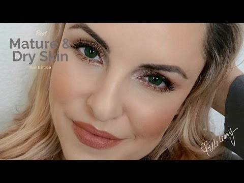 Bronzer. Highlighter & Blush for Mature & Dry Skin    Hourglass Review- Elle Leary Artistry