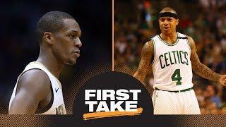 First Take reacts to Rajon Rondo saying Celtics should not honor Isaiah Thomas | First Take | ESPN