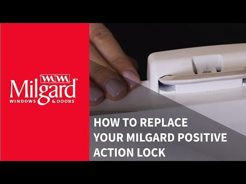 How to Replace Your Milgard® Positive Action Lock