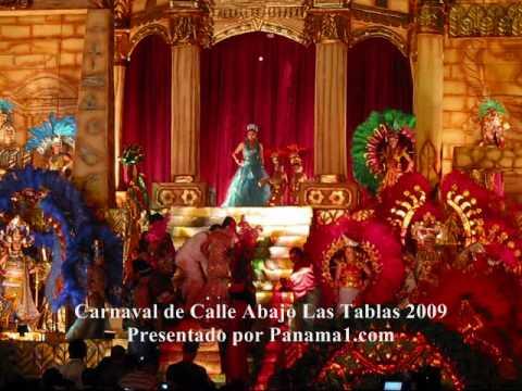 Carnaval de Panama1.com  - Coronacion de Reina de Calle Abajo Las Tablas 2009 Panama1 com