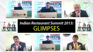 Indian Restaurant Summit 2013  Glimpses