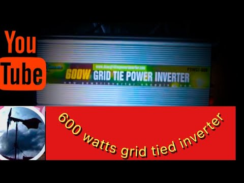 wind turbine/solar panel/grid tie inverter
