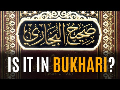 [eng] Is It In Bukhari? By Maulana Ilyas Ghuman video