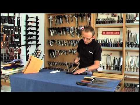 Spyderco TriAngle Sharpmaker - einseitig angeschliffene Messer
