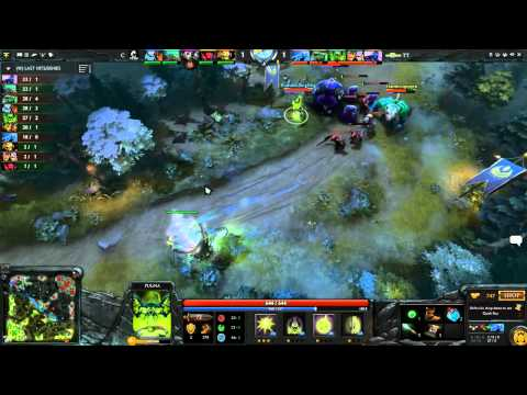 Team Tinker vs Crypsis Game 2 - ESL One New York EU Qualifiers - @DotaCapitalist & Clairvoyance