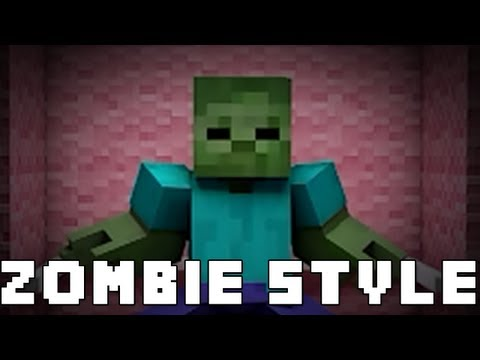 Gurukiran 39 s version of gangnam style - Zombie style minecraft ...