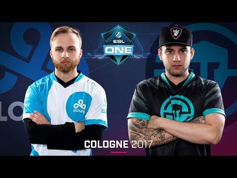 CS:GO - Cloud9 vs. Immortals [Train] - Swiss Round 4 - ESL One Cologne 2017