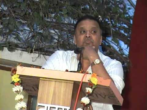 Avinash Dharmadhikari Speech  Vss Warora Part 1 video