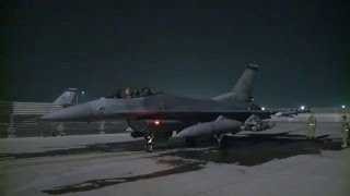 Bagram F-16s Support Helmand Province Operations