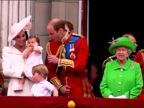 Duke and Duchess of Cambridge's family stole the attention from the Queen