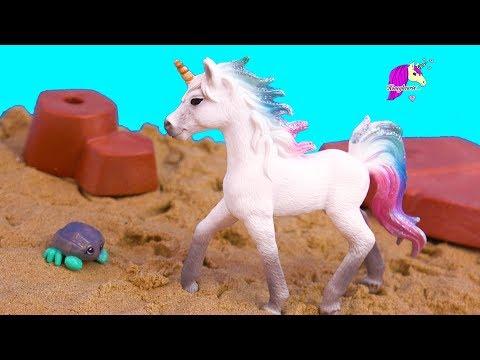 Sea Star Unicorn ! Schleich Horse Summer Video Series Part 1