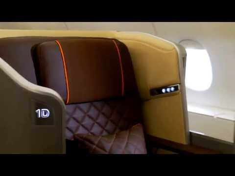 NEW! Singapore Airlines 'next generation' first class, business class and economy seats