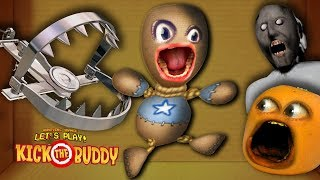 GRANNY BEAR TRAPS!   Kick the Buddy: COLD WEAPONS #1