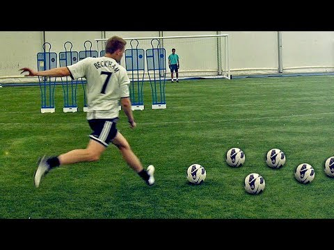 Get Hyper! Free Kicks | David Beckham Academy | Vol.3